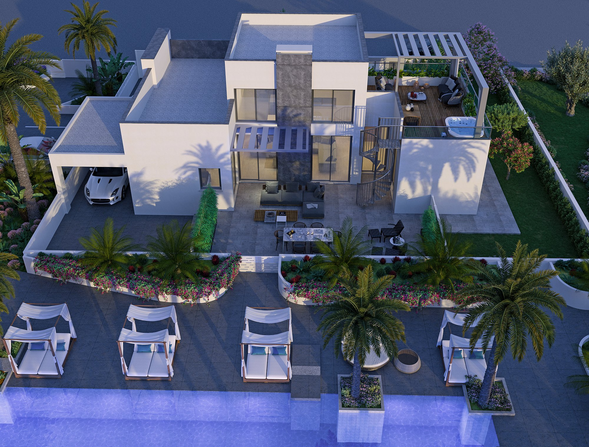 Royal Gardens Residences Villa by chic Investments
